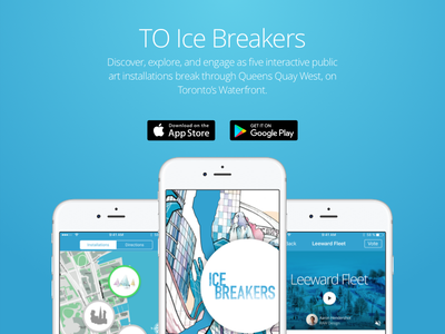 TO Ice Breakers App [VIDEO] map trailer debut android ios app animation ap1 video