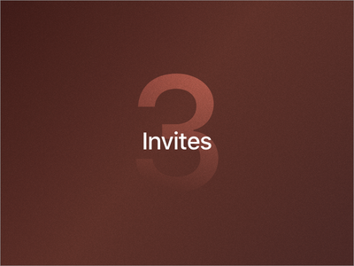 3x Invite Giveaway design sketch giveaway invite
