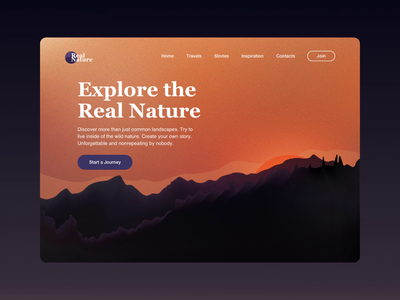 Mountain Club Webpage clean inspiration animation web ux design ui