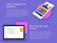 Learn languages system