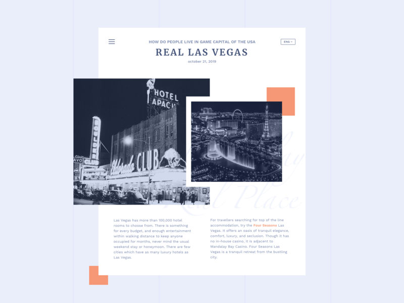 Press Page #DailyUI day #051