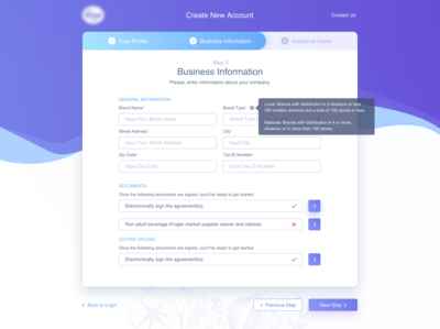 CREATE ACCOUNT STEP/FORM #DailyUI #day082 create account sign up registration form registration account form 082 web interface dailyui design ux ui