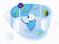 Illustration - Business Intelligence Automation