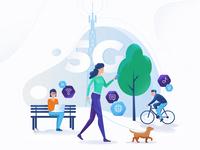 Illustration - 5G Networks