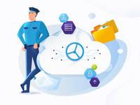 Illustration - Cloud Services