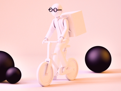 Delivery service c4d