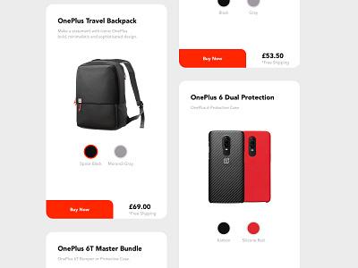 One Plus App dribbble ios e-commerce shop e-commerce app app ui moile