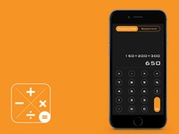 Calculater App Screen & Icon