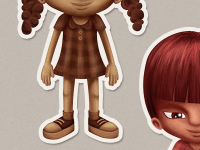 etnias 2 native indigenous african kids illustration ethnicity ethnic children