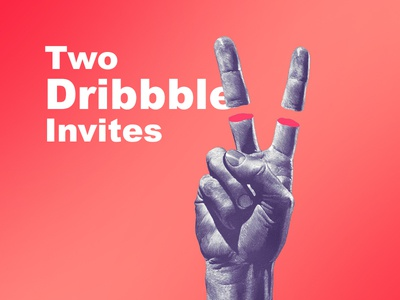 2 Invite bala two invites branding 2 invites invites invite vector flat typography design dribbble bala ux
