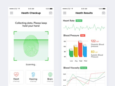 Health Checking Mobile App
