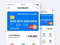 Wallet mobile application UI design