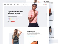 Fashion Ecommerce Landing Page Design