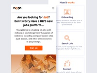 Job Search Mobile App Design