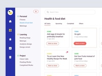 Todo Dashboard UI Design