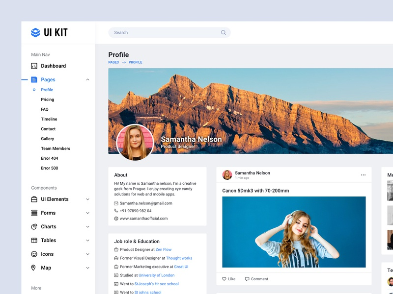 user profile dashboard ui design app ui ux dash dashboard app dashboard ui dashboard user page profile card profile design profile page profile page user interface user profile design bala ux