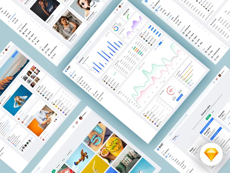 Dashboard UI kit design web clean dashboard template dashboard app dashboard design dash dashboard ui dashboard kit ui kits ui kit app ux ui design bala ux