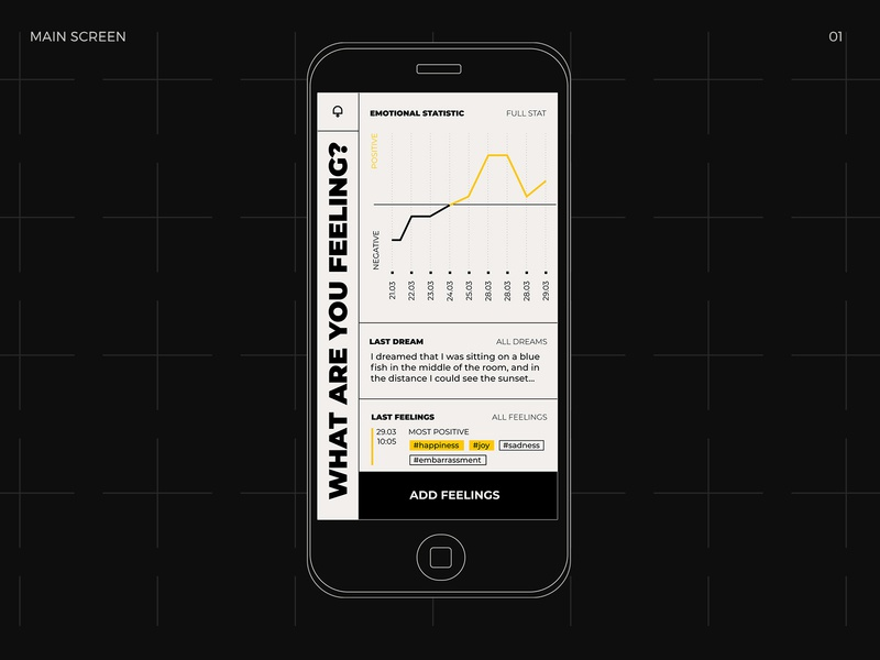 What are you feeling? black and white application feeling emotion social web app font design typography ui ux