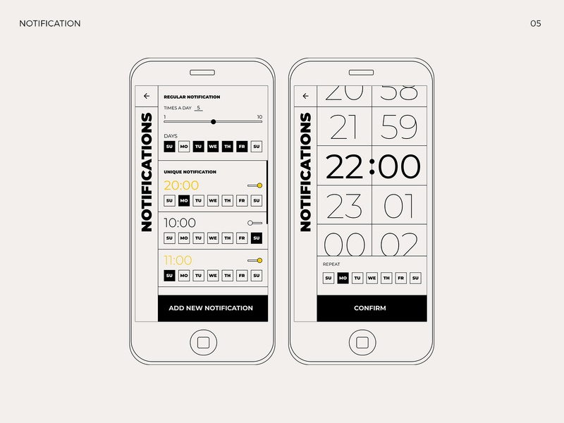 What are you feeling? notification social feeling emotion application bauhaus web app typography design ui ux