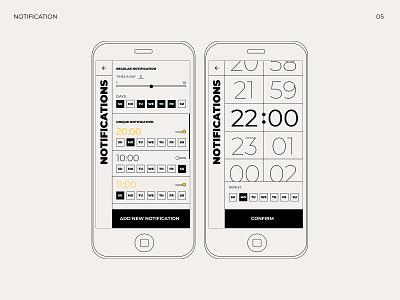 What are you feeling? notification social feeling emotion application bauhaus web app typography design ui ux