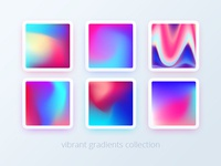 Vibrant gradients collection