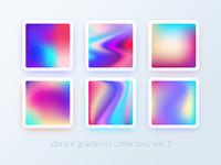Vibrant gradients collection. Vol 2