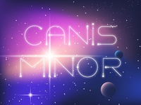 Canis Minor Font