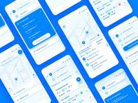 Public transport app. Redesign