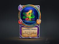 Wild box. Card concept