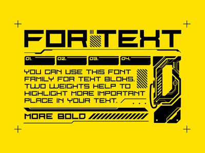 Cyber Grotesk Font interface game ui text letter typeface type 1980s futurism technology tech scifi cyber cyberpunk font vector branding typography