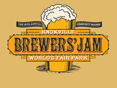 Brewers Jam 2015 Apparel community shares tennessee tn ipa stout porter ale craft brew knoxville beer