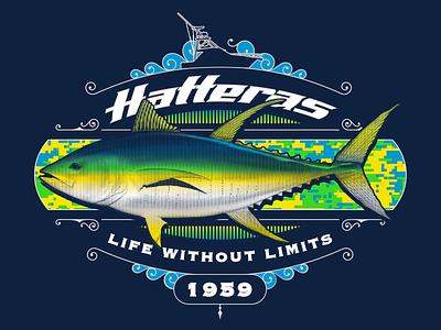 Hatteras Yachts Apparel yachting boating tuna sport fish fishing hatteras yachts
