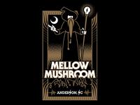 Mellow Mushroom Anderson, SC Tee