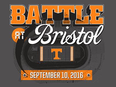 Battle at Bristol T-Shirts battle at bristol tennessee volunteers vols bristol football tn