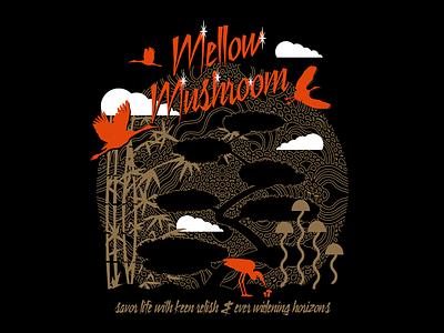 Mellow Mushroom T-Shirt pie pi buddha pizza shirt mellow mushroom