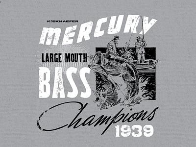 The Kiekhaefer Collection for Mercury Marine outdoors sport mercury fishing bass boating