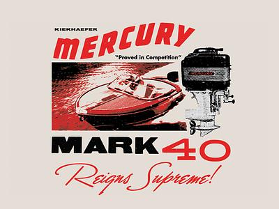 The Kiekhaefer Collection for Mercury Marine marine engines motors boats fishing boating mercury