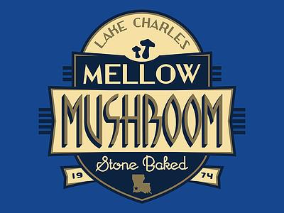 Mellow Mushroom Lake Charles, LA deco knoxville threds louisiana la lake charles pizza apparel