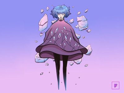GRIS videogame gris digitalpainting mangaart aesthetic digitalart fanart drawing illustration