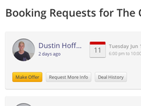 Booking Requests