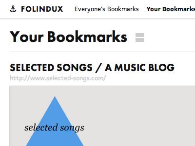 Folindux url screenshots header titles interface index