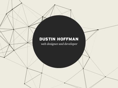 Portfolio website canvas redesign portfolio graph nodes animation