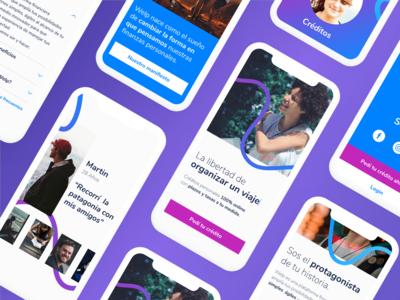 Mobile Homepage • Welp
