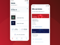 Mobile App • Cablevisión argentina ui  ux fibertel cablevision app real project react native android ios self-management