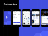 Booking App (iOS platform)