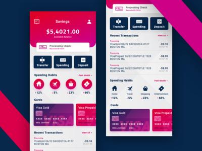 $$$ money payment design uxui ux visa finance bank mobile ui