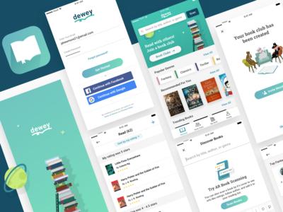 Dewey Book Reading App