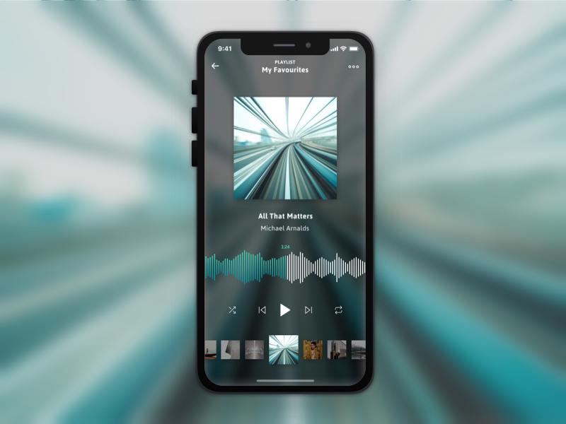 Music App music app music dribbble design sketch figma app ux ui