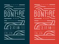 Bonfire Pizza Invite
