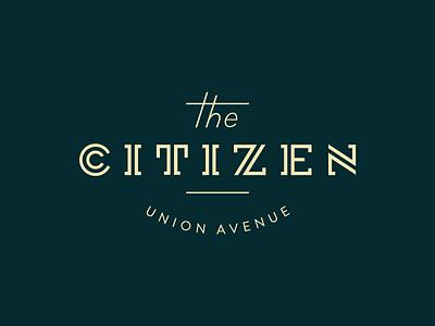 Logo Type Take 2 inline z slab serif type logo citizen